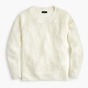 J. Crew crewneck beach sweater
